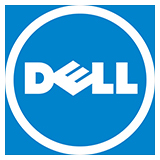 Dell Logo with border 160x160